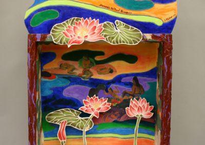 Homage to Paul Gauguin mixed media
